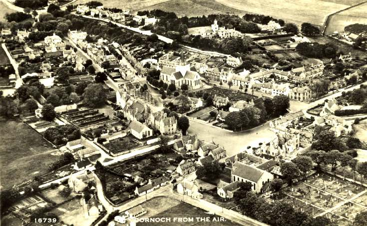 Dornoch from the Air