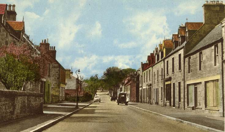 Castle Street colour postcard