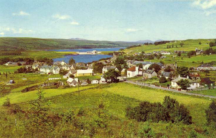 Lairg and Loch Shin
