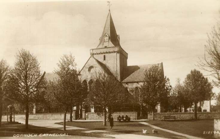 Dornoch Cathedral postcard