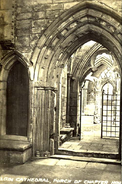 Elgin Cathedral, Porch of Chapter House