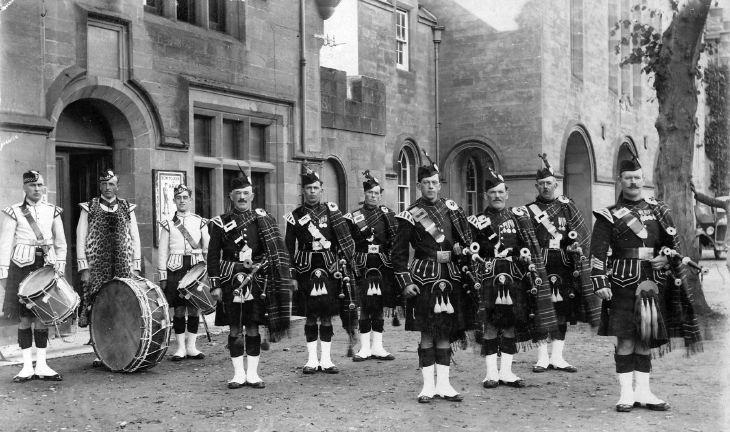 Dornoch Pipe Band 1926
