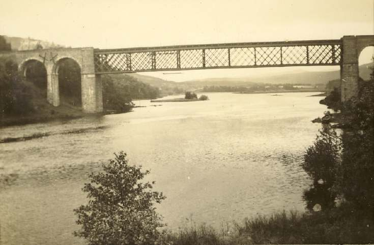 Culrain railway bridge, Invershin