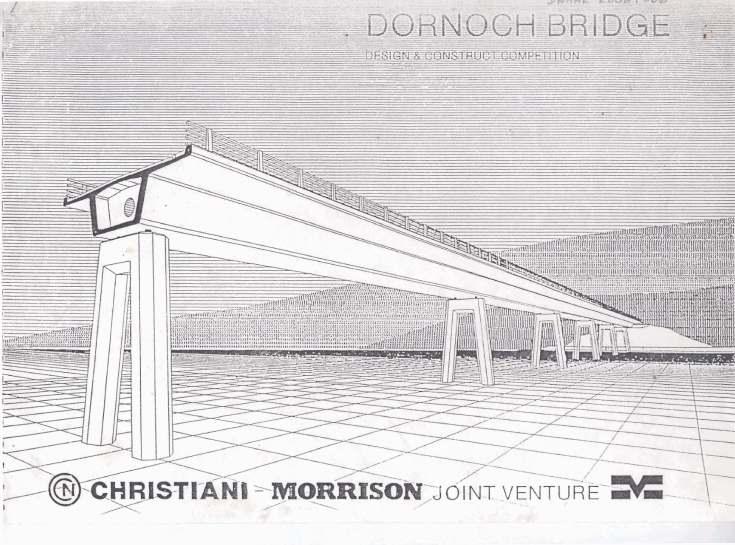 construction of Dornoch bridge