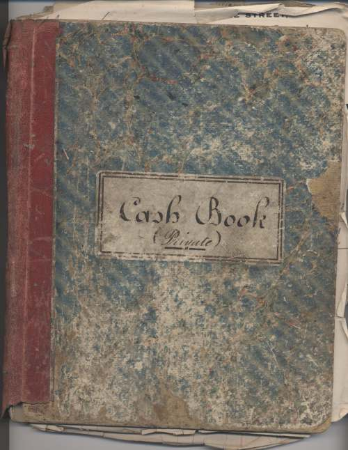 Cash book of William MacKay Blacksmith 1919-27