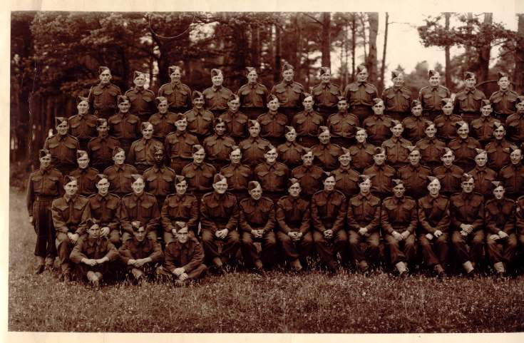 No 26 Company Canadian Forestry Corps - Scotland 1943