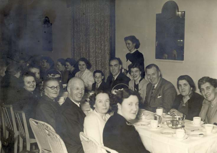 Tea Party at Clashmore Hall