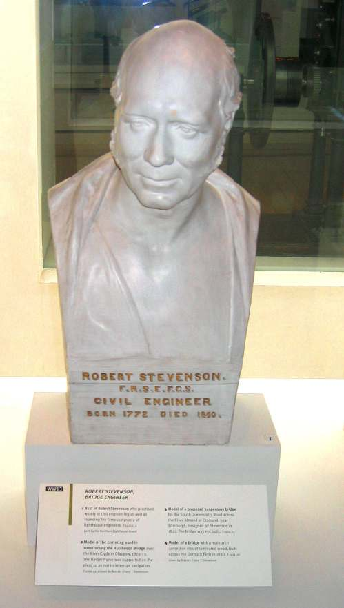 Bust of Robert Stevenson