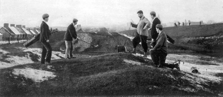Donald Ross at 17th hole Struie Course