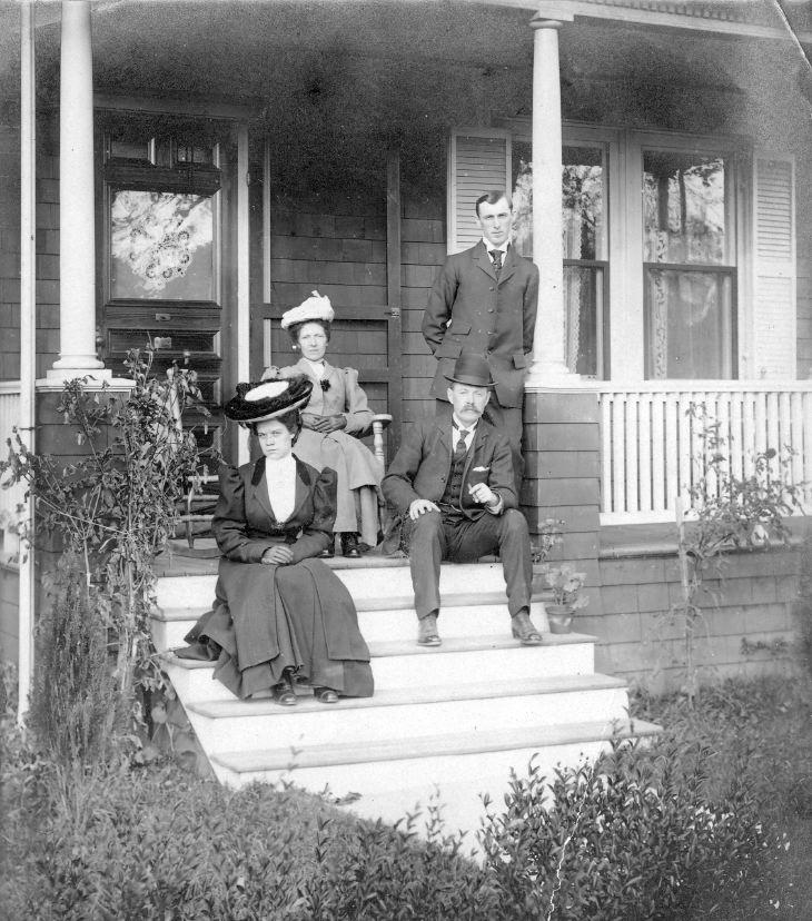 Donald Ross family group