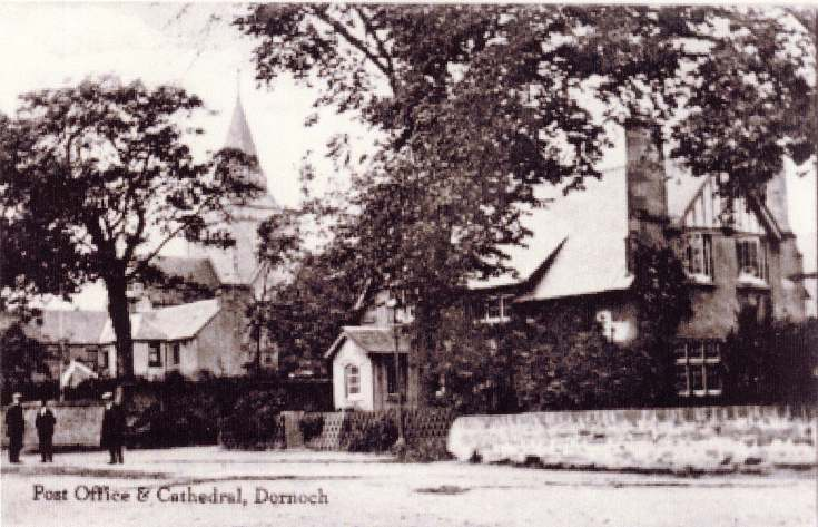 Dornoch Post Office and Cathedral