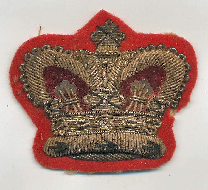 Embroidered badge - Robert Mackay