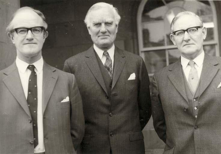 Honorary Sheriffs - including bowling club member Hugh Steele