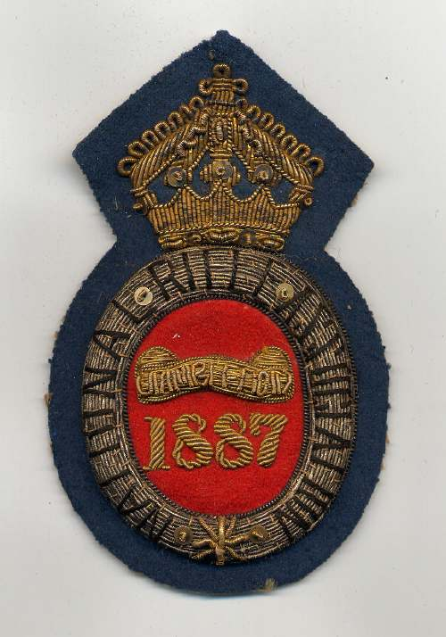 National Rifle Association ~ Wimbledon badge - Robert Mackay 1887