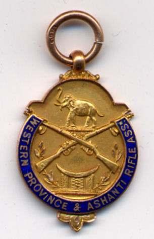 Western Province & Ashanti Rifle Association medal - Robert Mackay 1928