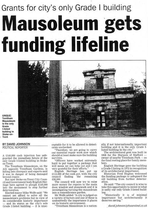 Trentham Mausoleum