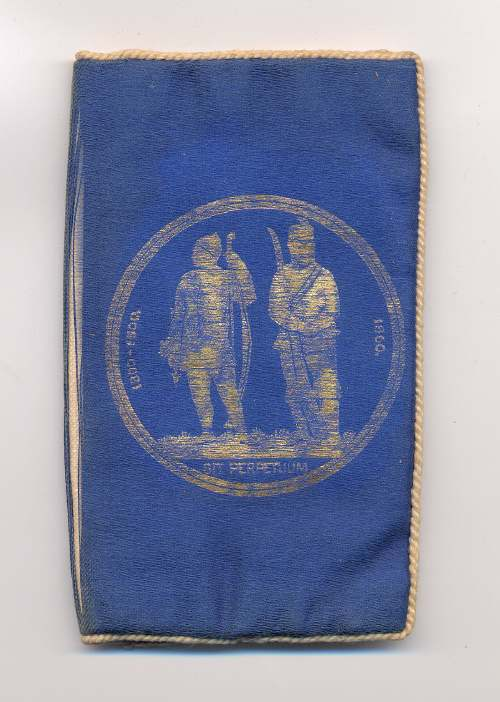 Five National Rifle Association pouches - Robert Mackay