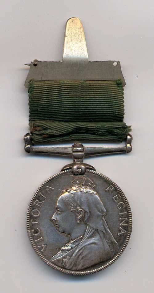 Long service medal - Robert Mackay 1895