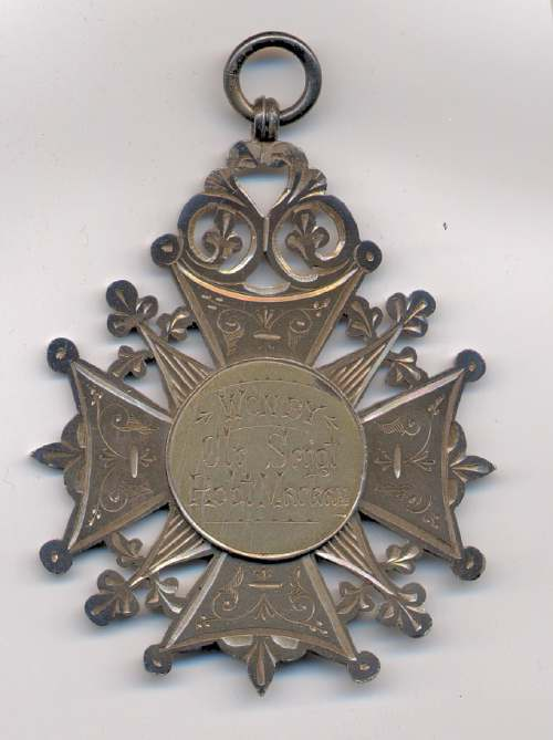 Sutherland Highland Rifle Volunteers shooting medal - Robert Mackay 1897