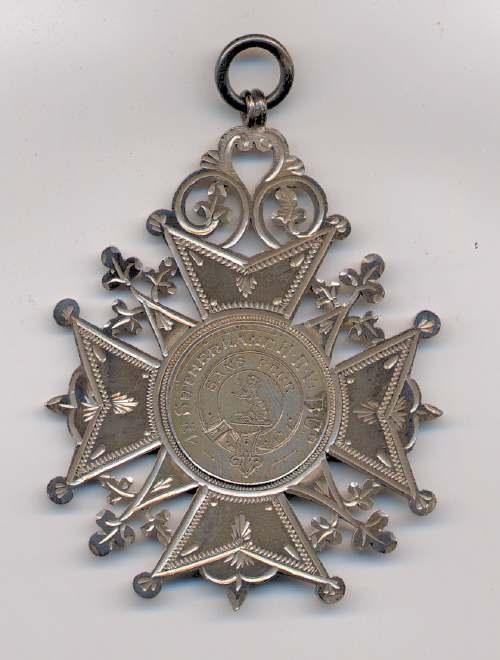 Sutherland Highland Rifle Volunteers shooting medal - Robert Mackay 1899