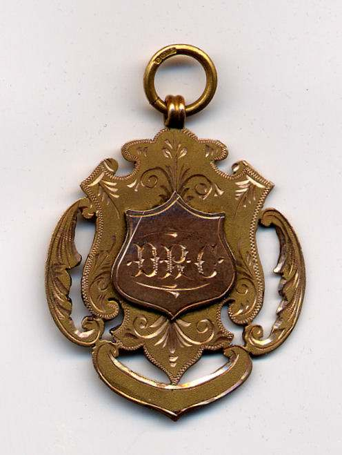 Dunrobin Rifle Club medal - Robert Mackay 1910