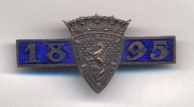 International Twenty Match badge - Robert Mackay 1895