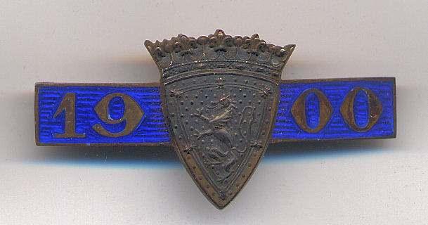 International Twenty Match badge - Robert Mackay 1900