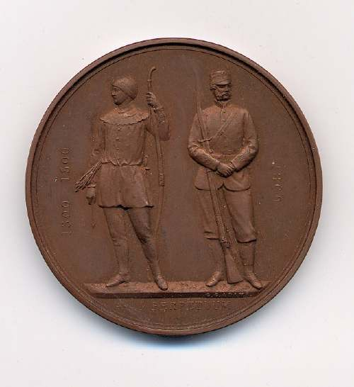 National Rifle Association medal  - Robert Mackay
