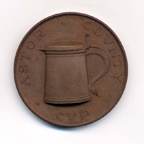 Astor County Cup medal  - Robert Mackay