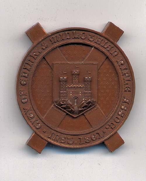 Caledonian Challenge Shield medal  - Robert Mackay