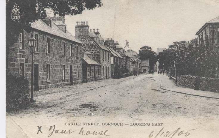 Castle Street Dornoch looking East