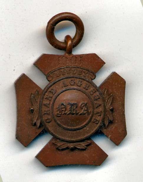 Grand Aggregate Bisley medal  - Robert Mackay 1901