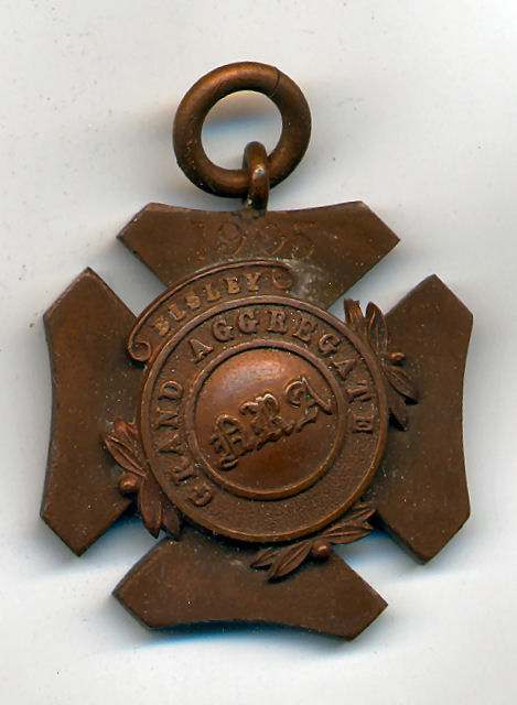Grand Aggregate Bisley medal  - Robert Mackay 1905