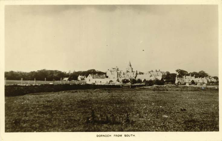 Dornoch from the south