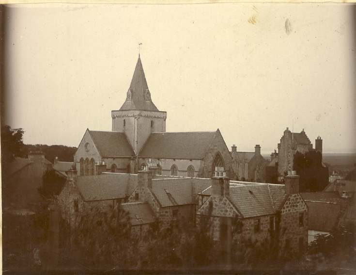 Dornoch cathedral midnight July 1908