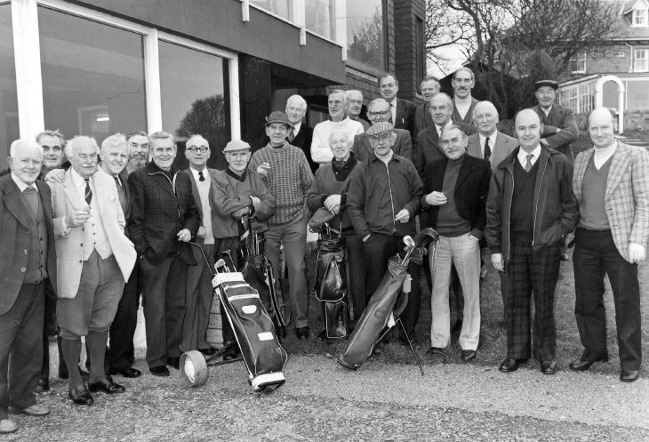 Dornoch Golf Club Members 1980