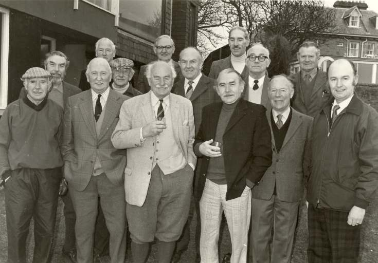 Dornoch Golf Club Members 1980
