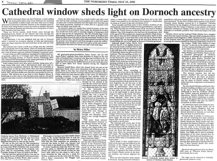 Article on cathedral
