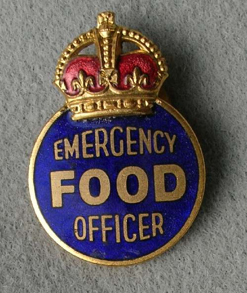 Ministry of Food lapel badge