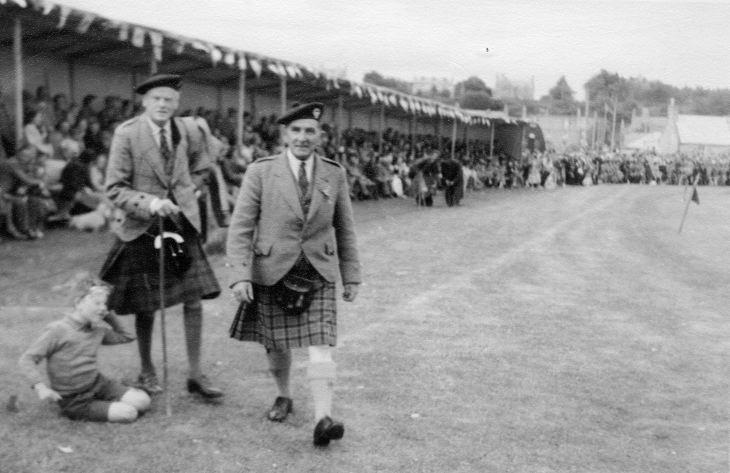 Dornoch Highland Gathering 1951