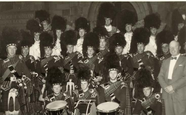 Dornoch Pipe Band 1960s