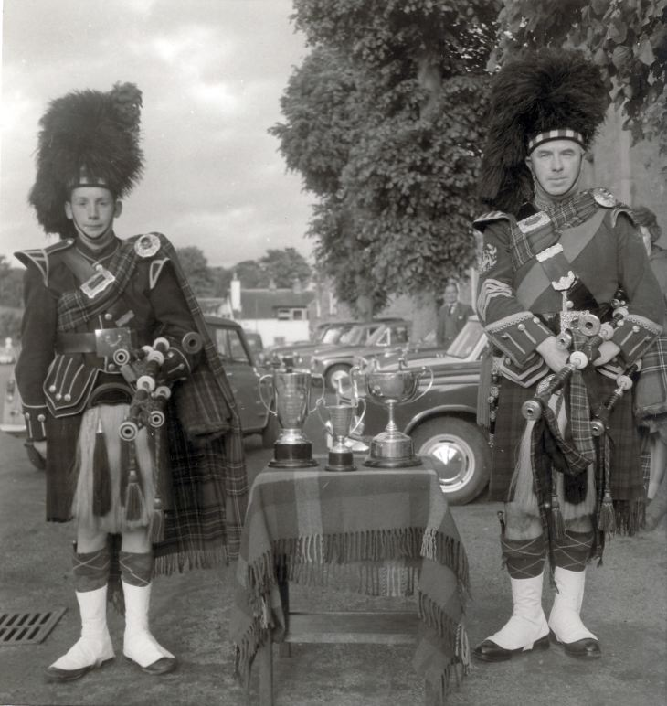 Pipe Major Kenny Macrae