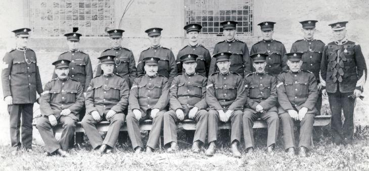 The Sutherland Constabulary at Dornoch