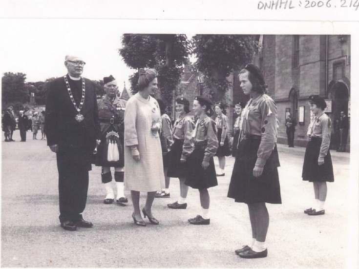 Queen Elizabeth in Dornoch