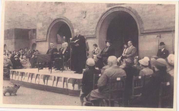 Freedom of Dornoch conferred on Lord Kilmuir