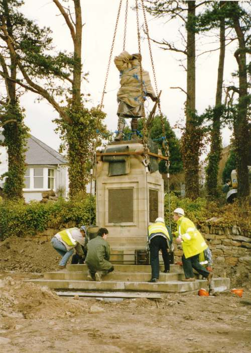 Relocation of Dornoch war memorial
