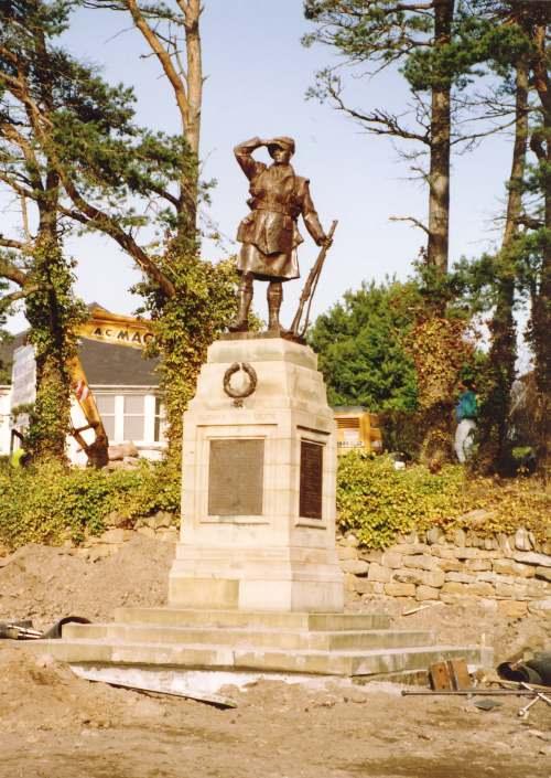 Relocation of Dornoch war memorial
