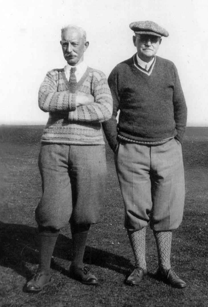 Donald Ross & Rev.Mackay