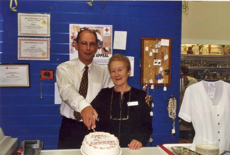British Red Cross Shop Anniversary