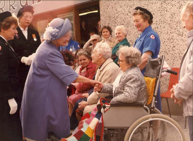 British Red Cross Mini Bus Inauguration